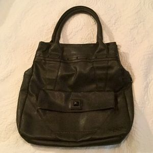 Excellent condition VOLCOM leather bag